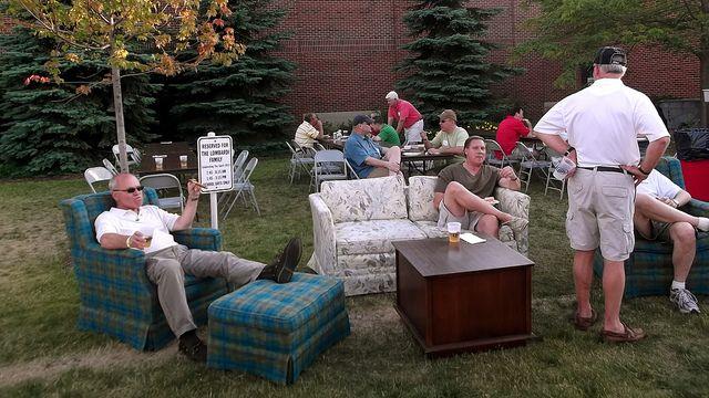 men's club style lawn furniture | bags tournament | pinterest ... - Idee Mobili Da Giardino In Stile