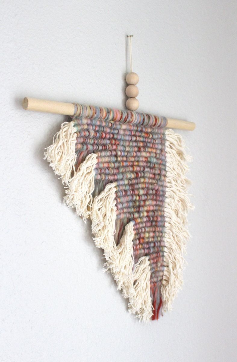 Macrame wall hanging block by himo art one of a kind by himoart