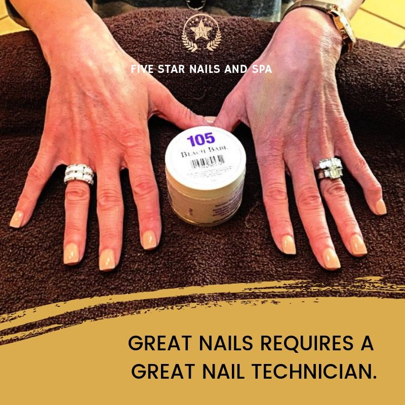Great nails requires a great nail technician. #nails ...