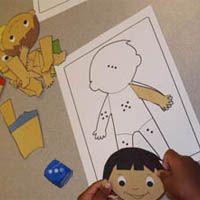Projekt Das bin ich und mein Koerper Kindergarten und Kita-Ideen #preschool