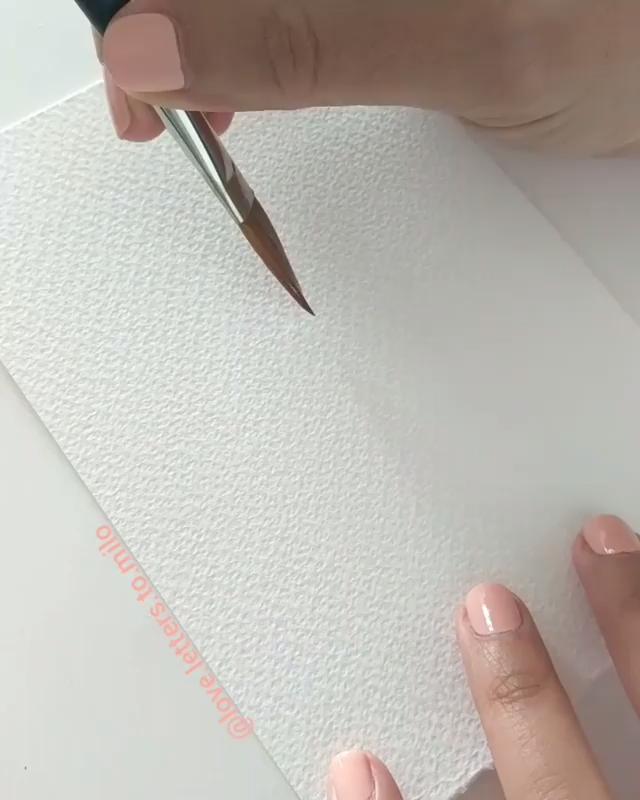 Watercolor Painting Handmade paint
