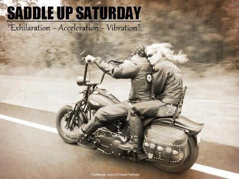 Saturday Bikers Harley Davidson Motorcycles