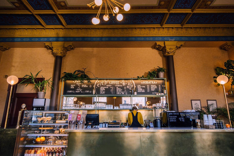 Lodzka Kawiarnia Szykier Projekt Pracowni Koziej Architekci Pln Design Restaurant Home Decor Decor