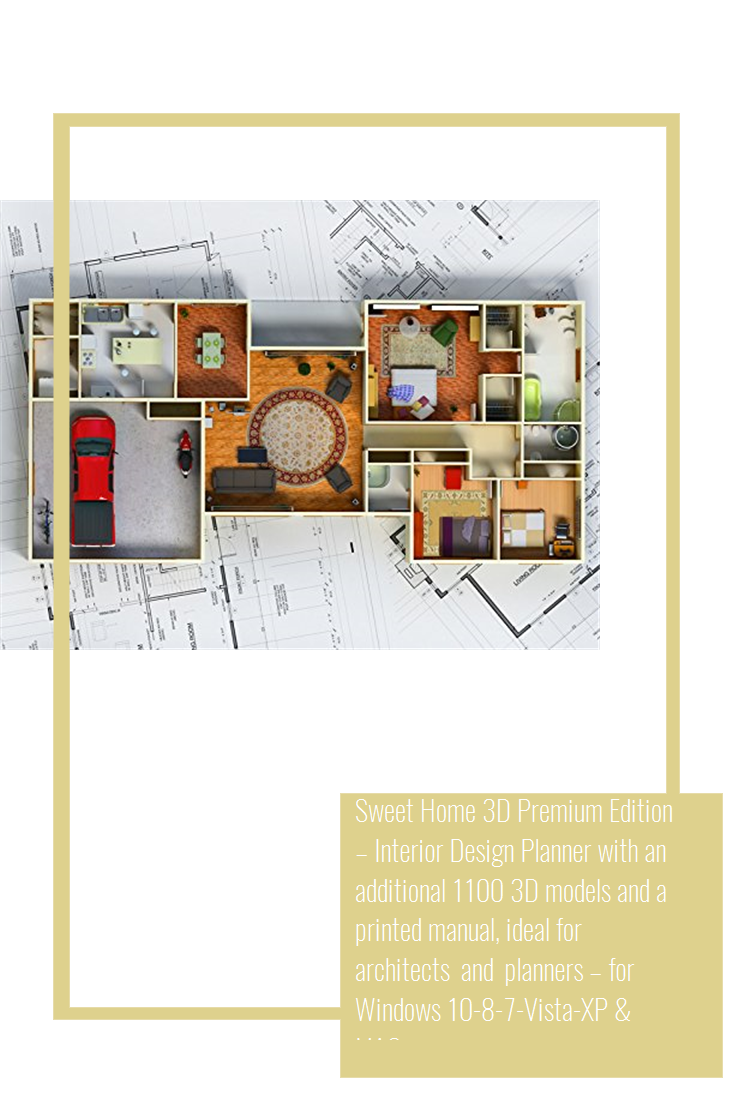 Sweet Home 3d Premium Edition Interior Design Planner With An Additional 1100 3d Models And A Printed Manual Ideal For Archi Planner Design Design Architect