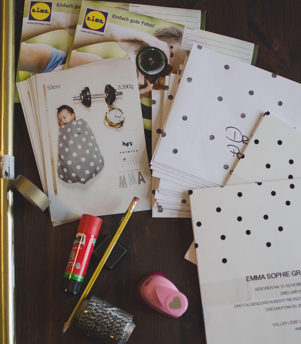 diy geburtskarte f r babyfrost via baby baby dankeskarten basteln baby. Black Bedroom Furniture Sets. Home Design Ideas