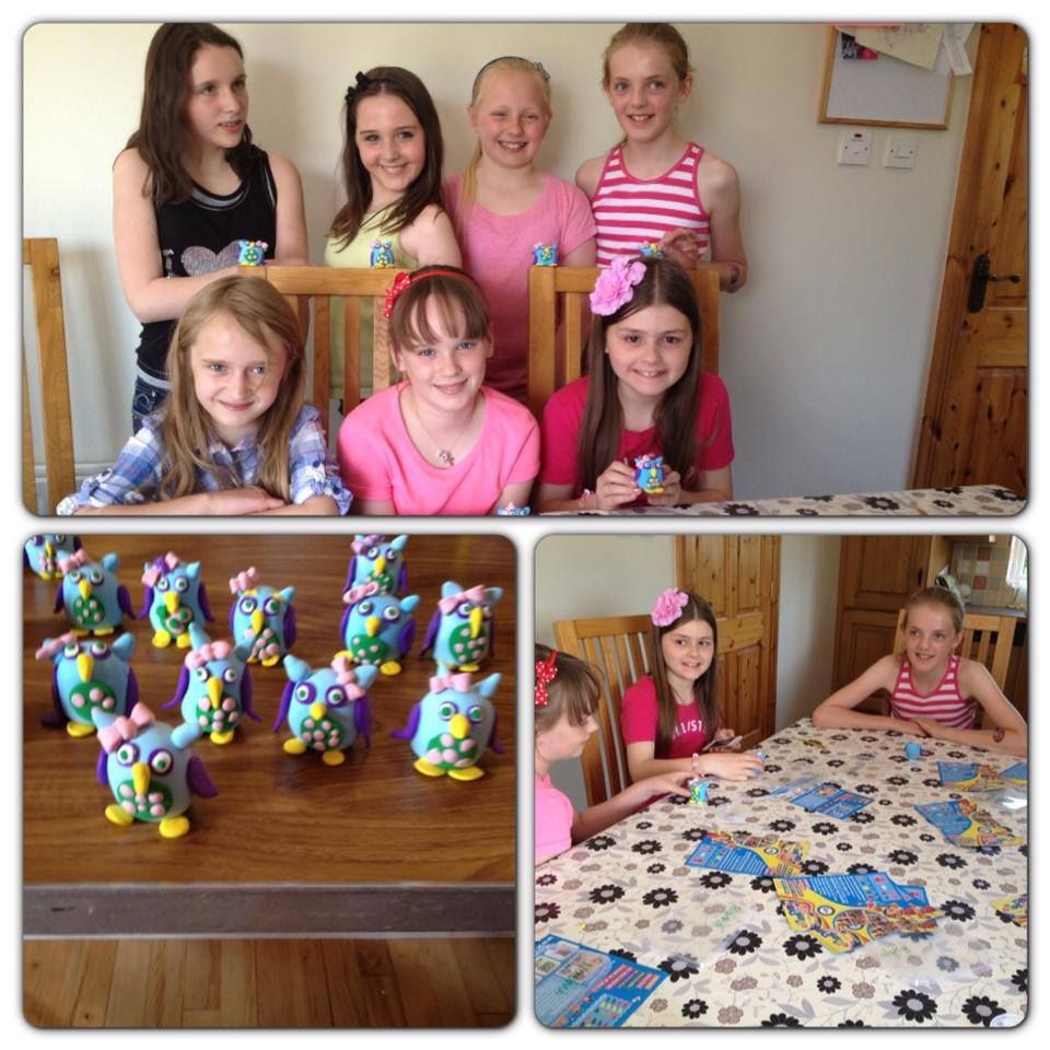 Happy Birthday...what lovely little owls everyone created!! Well done & Happy Modelling