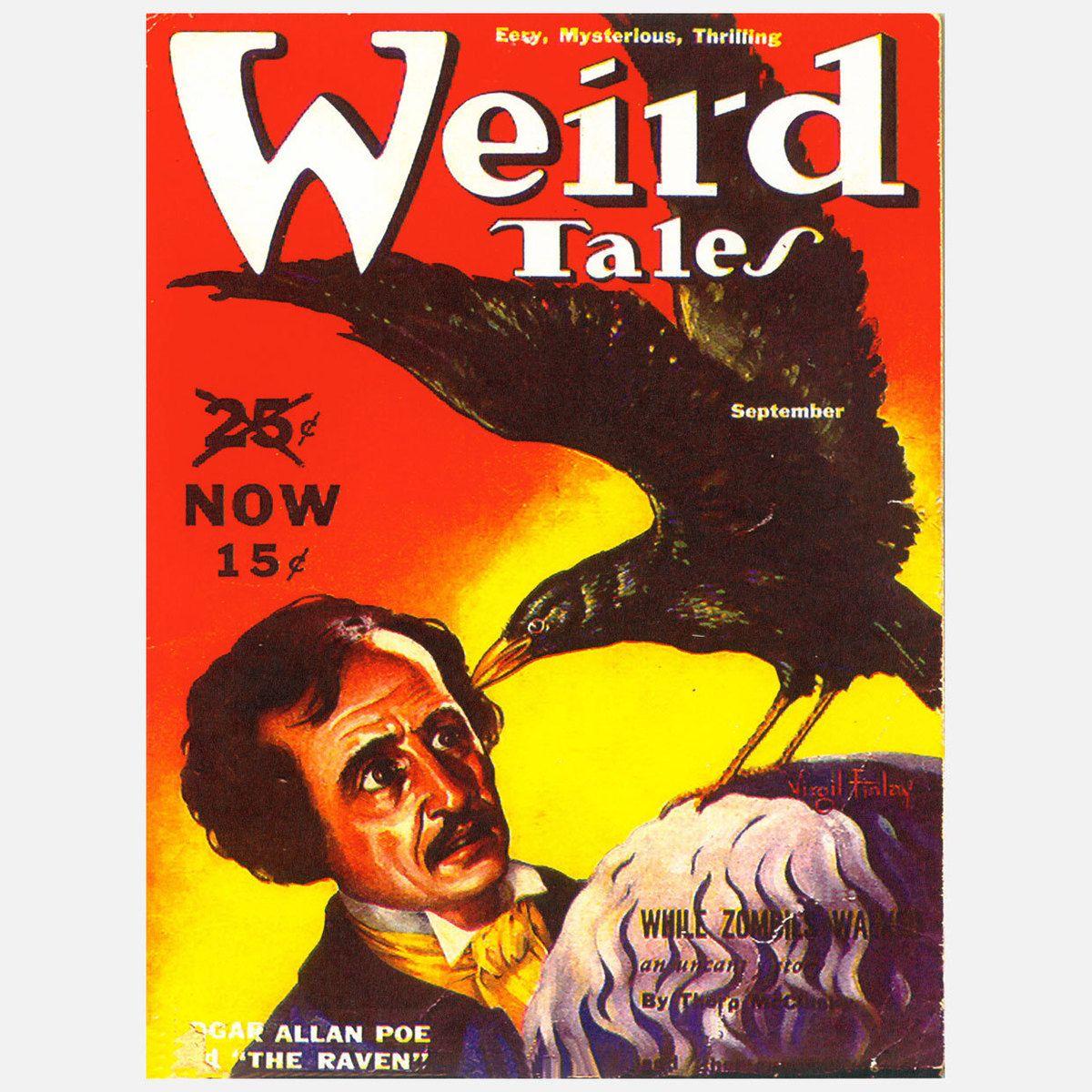 Edgar Allan Poe, Raven Poster