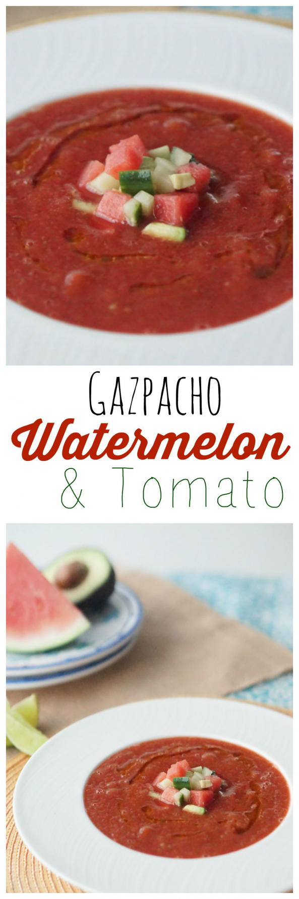 Make my yummy Low Calorie Gluten Free #Watermelon & Tomato #Gazpacho! This is the perfect meal for a hot summer day! #paleoforbeginners      If you fellas learn my family, you already know that I prefer to amuse and possess people our home. Although afterall, I have got 6 little ones below 9 and we tends to make many genuinely massive dirt! I've found of which I am not as likely to open ... #calorie #clean eating for beginners gluten free #free #Gazpacho #Gluten #tomato #Watermelon #yummy