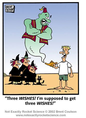 3 wishes halloween
