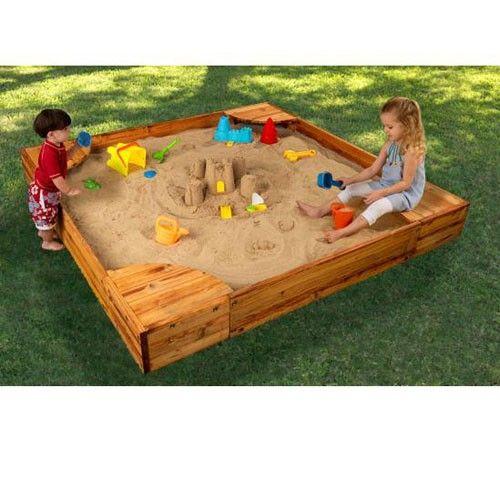KidKraft Backyard Sandbox | Backyard sandbox
