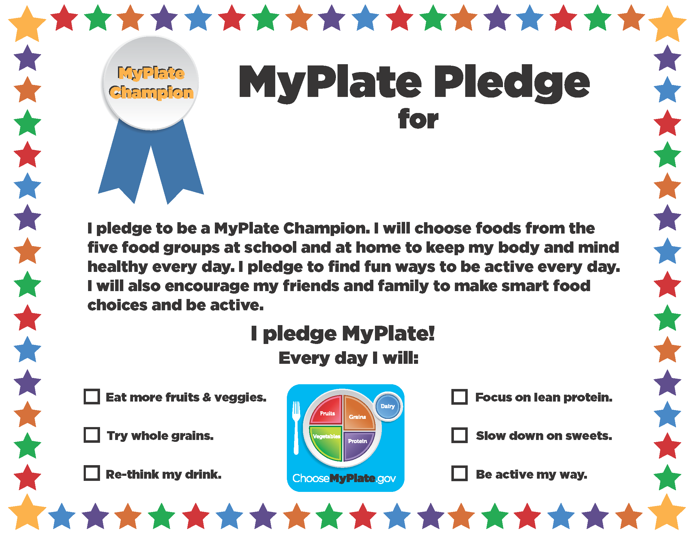 Pin On What S Myplate All About