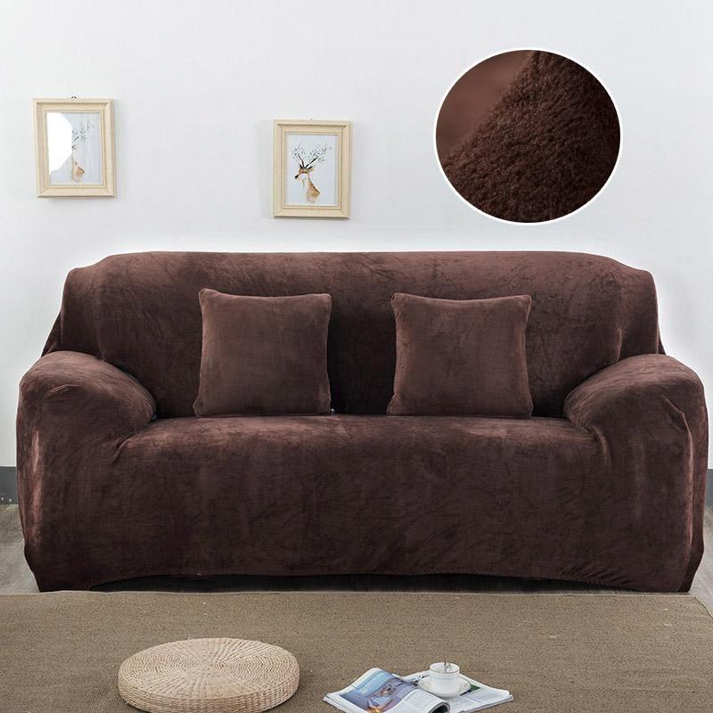 Plush Couch Covers Velvet Couch Slipcovers Fundas Sofa Fundas