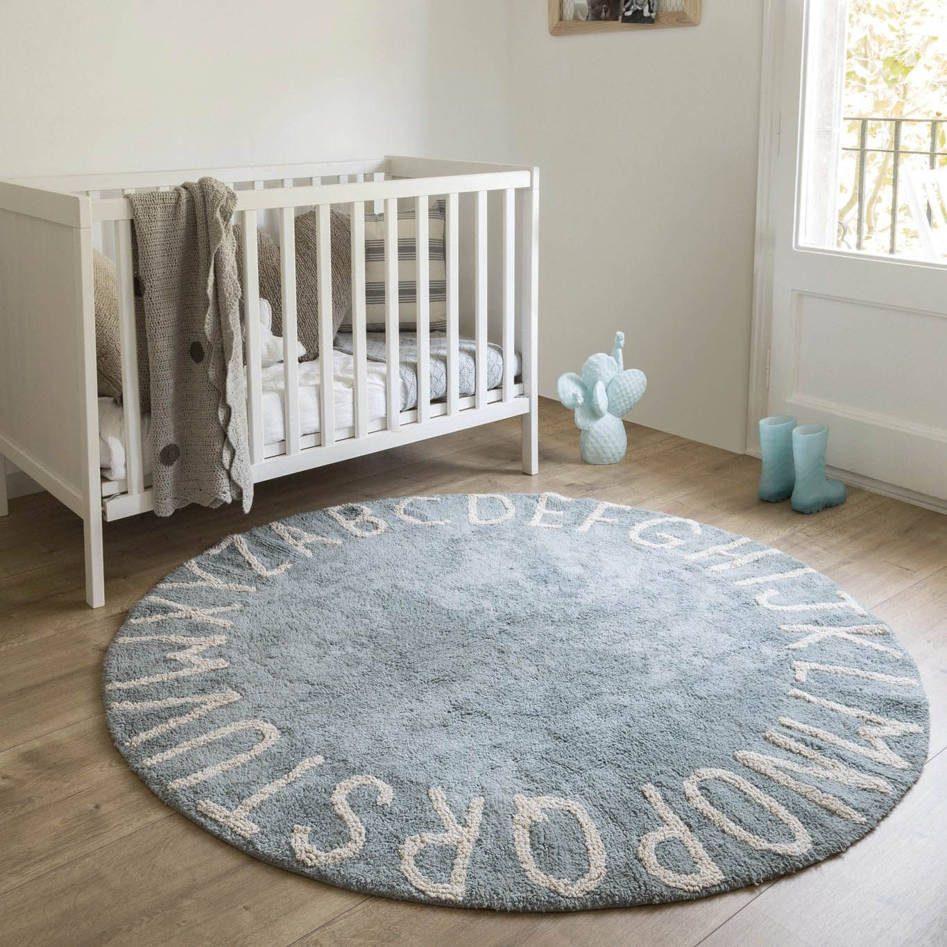 Round Abc Rug The Project Nursery