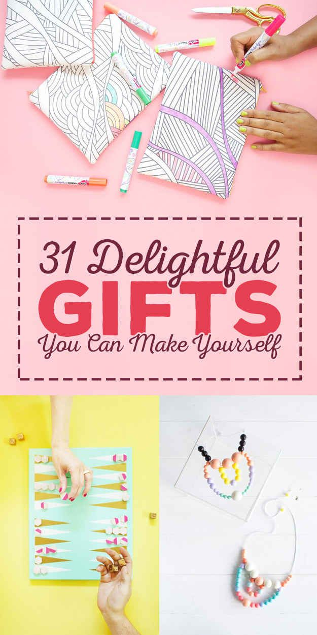 31 Completely Fucking Awesome DIY Gifts