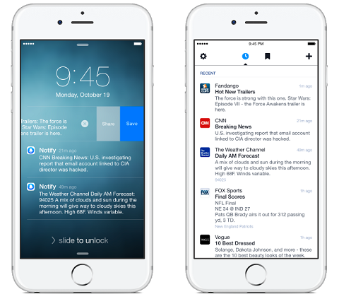 Do you struggle to keep up with the latest news in your industry? Facebook Notify lets you know when important news items break.
