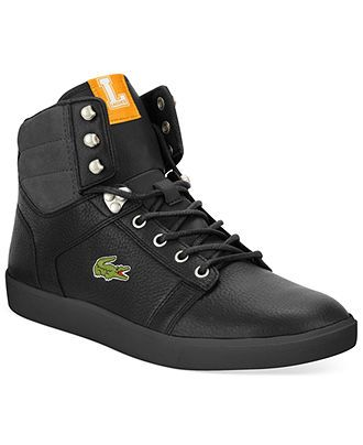 05fc8ae839d3 Lacoste Orelle Hi-Top Sneakers - Guys  Shoes - Men - Macy s