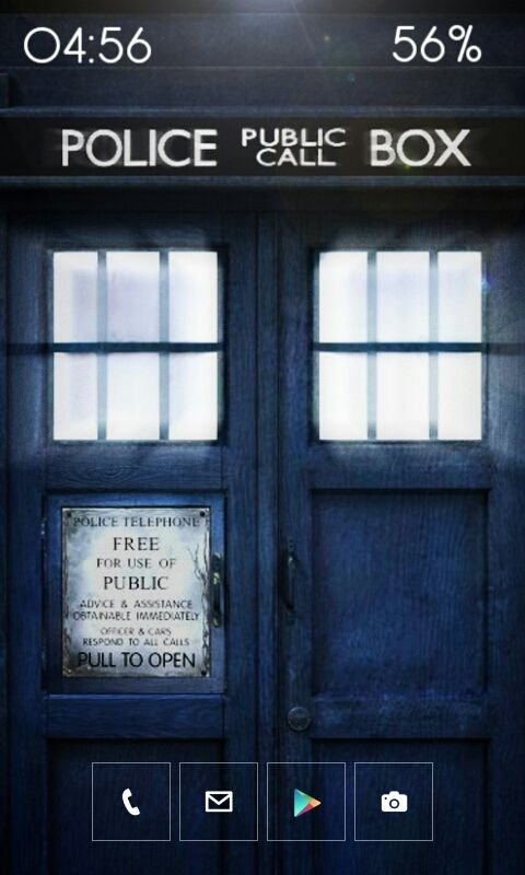Doctor Who Android Themes Doctor Who Tardis Tardis Wallpaper
