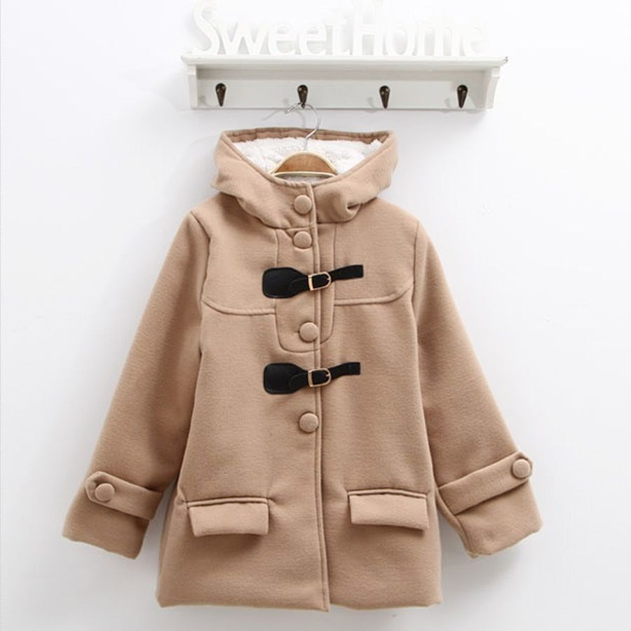 Aliexpress.com : Buy 2013 winter female child fashion wincey with a hood outerwear top double faced woolen goods wadded jacket down jackets SCG 3061 from Reliable girls winter coat suppliers on Sunlun Wholesale And Retail Center $27.35