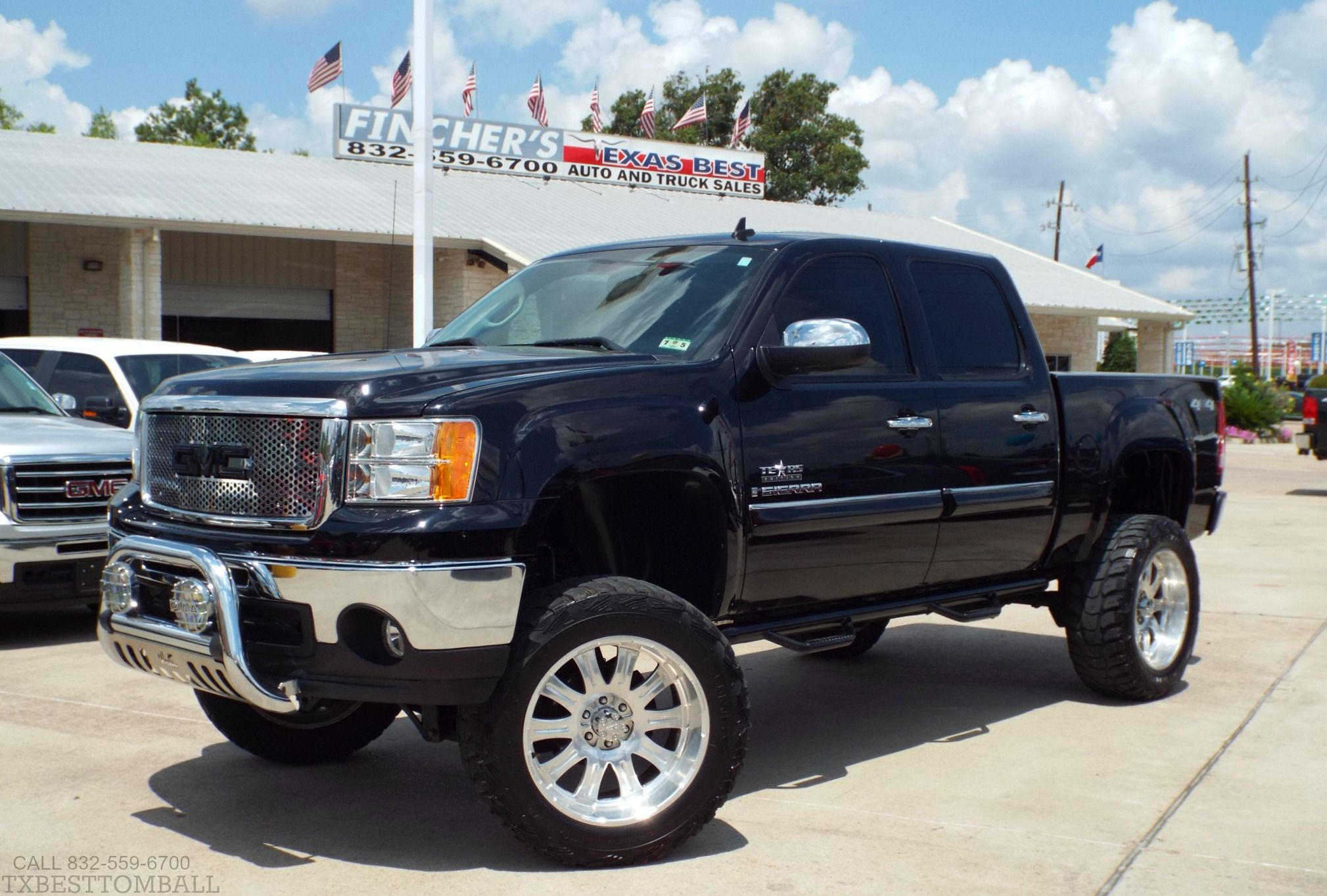 2009 Gmc Sierra 1500 Crew Cab Sle 4x4 Truck For Sale Only At Fincher S Texas Best Tomball Houston Htown G Gmc Sierra 1500 Gmc Sierra 4x4 Trucks For Sale