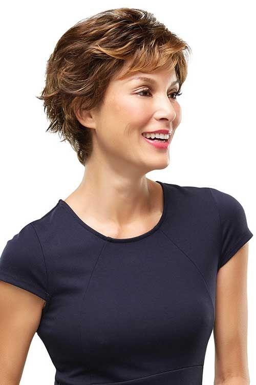 Stilvolle ältere Frauen Mit Kurzen Frisuren Neue Frisuren