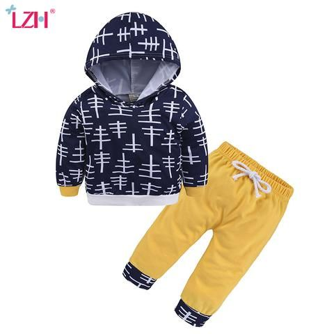 afcfaa00f LZH Newborn Baby Boys Clothes 2018 Autumn Winter Baby Girls Clothes ...