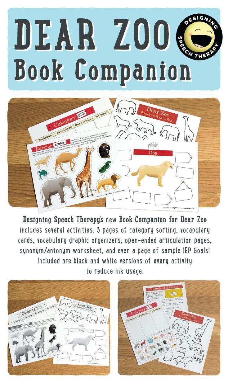 Dear Zoo Book panion