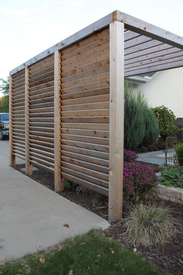DIY Outdoor-Sichtschutz-Ideen #terassenüberdachung