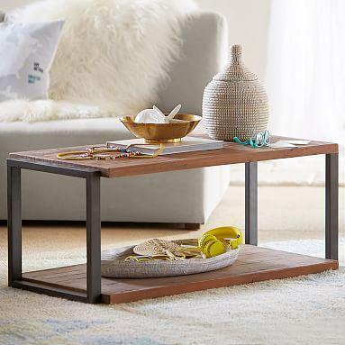 Kelly Slater Reclaimed Wood Coffee Table #pbteen