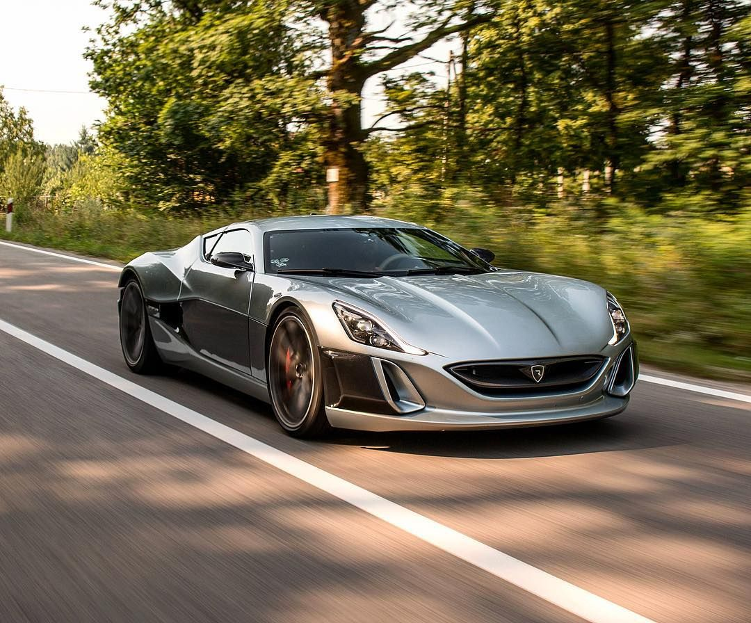 Rimac Concept One Super Cars Car Luxury Cars