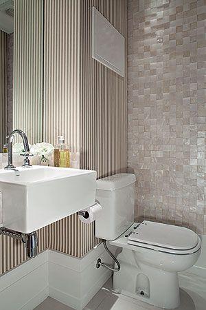 Espa o mini efeito m ximo 39 nas demais paredes o tecido for Mini lavabos baratos