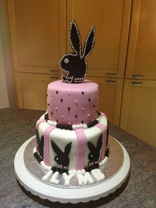 Playboy Cake Design : Playboy bunny cake awesome cakes Pinterest Playboy ...
