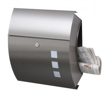 Frabox Edelstahl Briefkasten Santa Fe Exklusiv Von Frabox Db7020