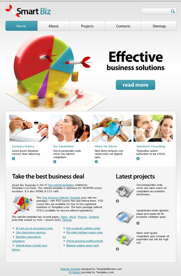 Free business website template your efficient choice business when we talk about websites first thing on which visitor focus is the design of website and a uniform presentation of contents accmission Gallery