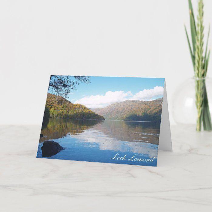 Loch Lomond Greeting Card