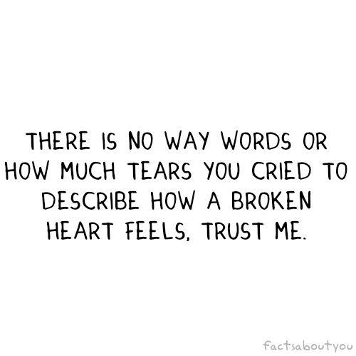 High Quality Broken Heart Quotes | Broken Heart, Heart, Love, Quote   Image #127653 On  Favim.com