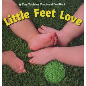 I touchy-feely board book for little ones! My little boy