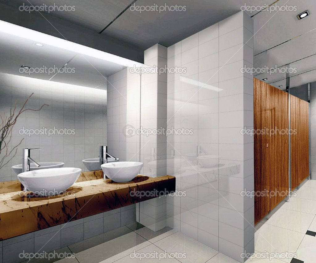 Modern public bathrooms images for The bathroom designer