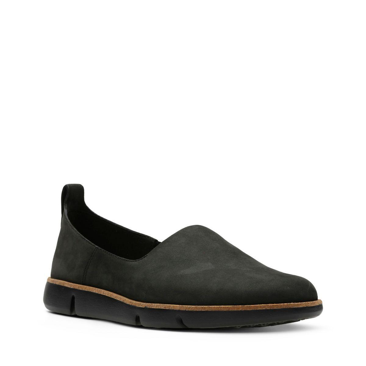 Clarks Tri Curve - Womens Shoes Black