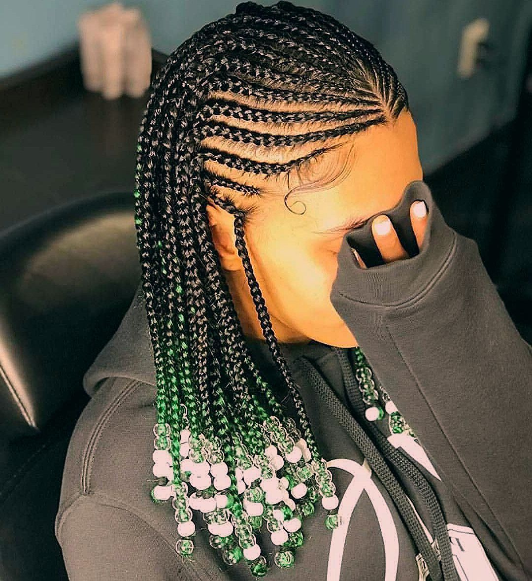 2019 Ghana Weaving Hairstyles Beautiful African Braids Hair Ideas For Ladie Africa African Braids Hair Styles Braids With Weave