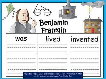 Benjamin Franklin Facts, Biography, Information & Worksheets For Kids