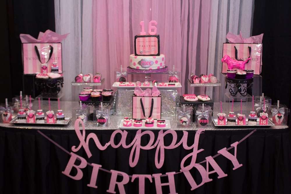 Diy Sweet 16 Party Themes Sweet 16 Party Themes Pink Birthday