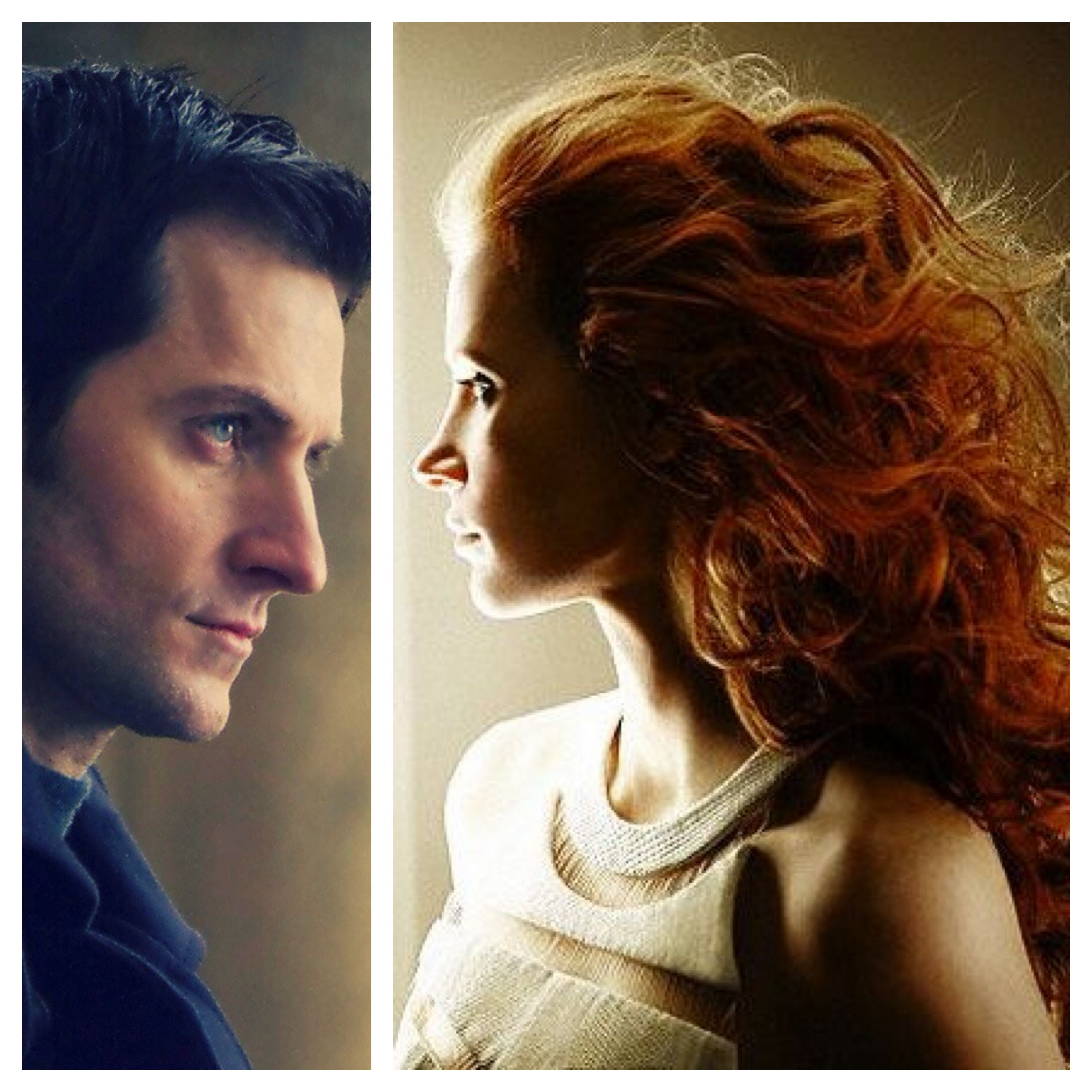 My Picks For Matthew Clairmont And Diana Bishop: Richard Armitage And  Jessica Chastain All Souls
