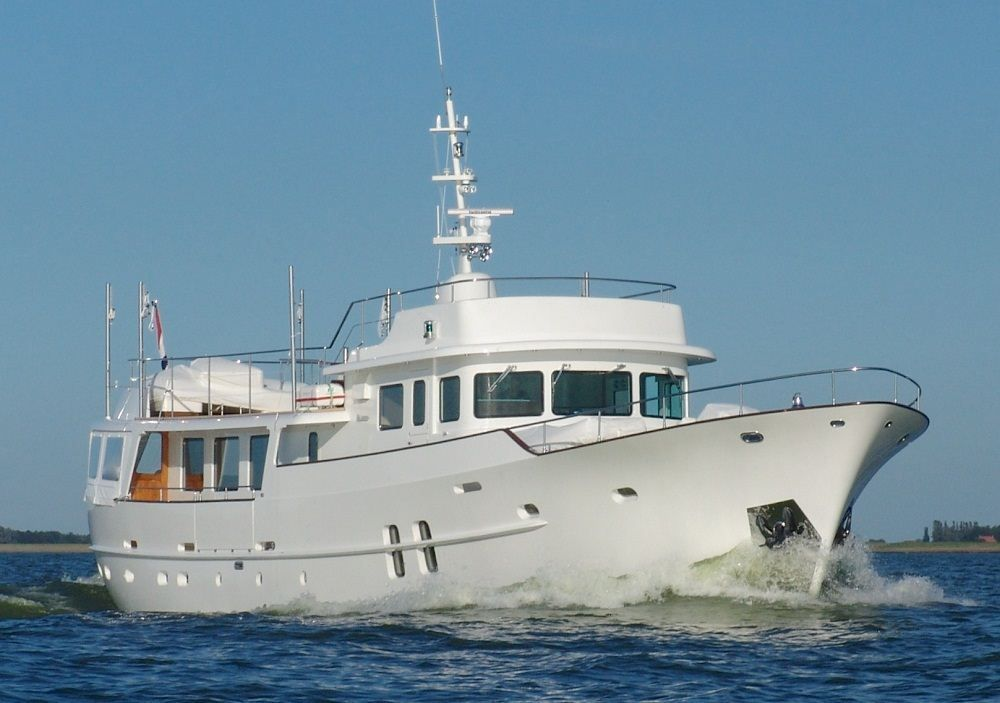 The Metre Feadship Motor Yacht SULTANA Has Just Completed A Major Rebuild By Classic Ex Din Dina Hull Now Been