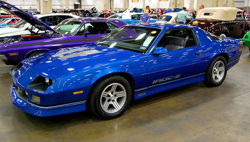 Mecum Auto Auction A Rare 1989 Or 1990 Iroc Z 28 5 7