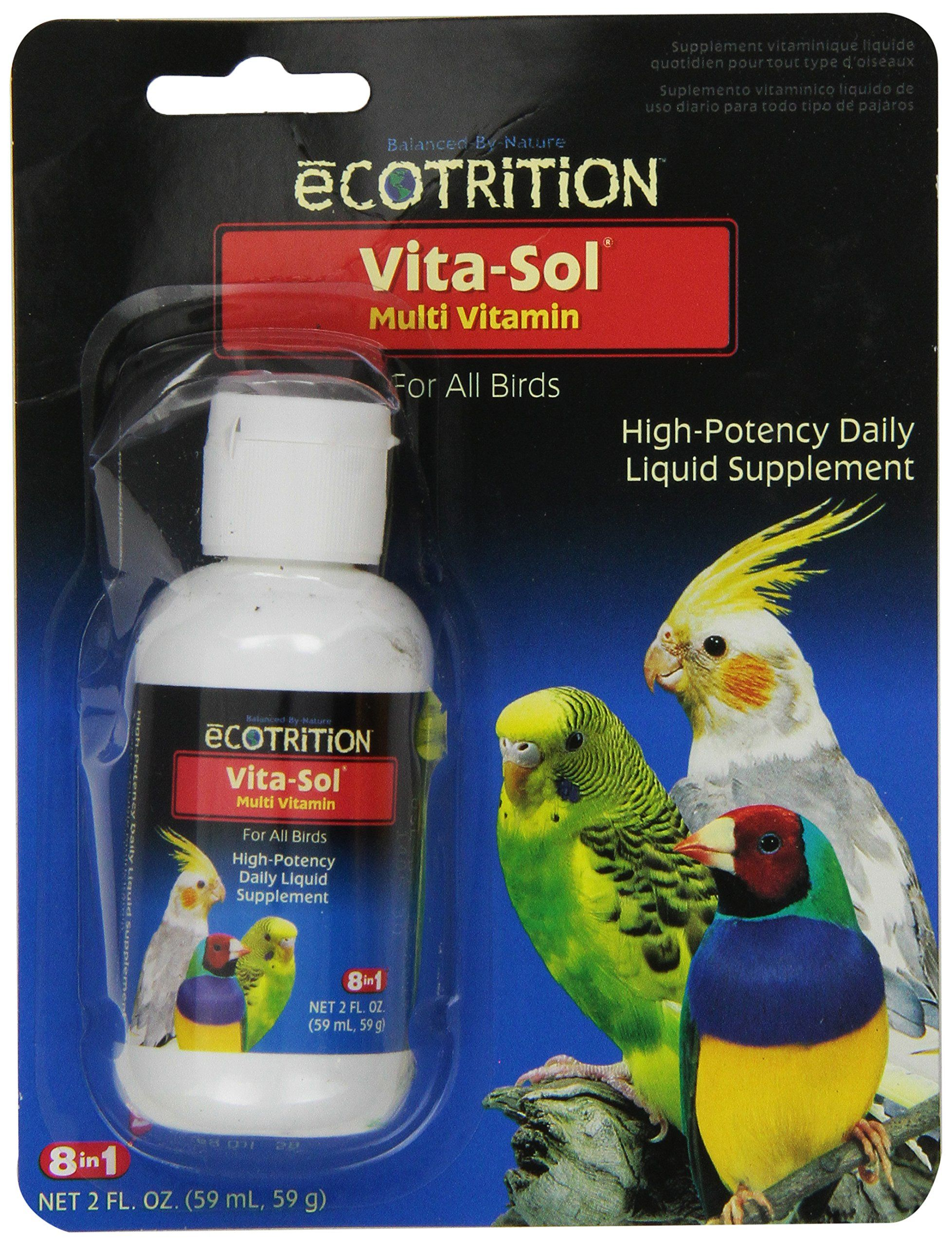 Ecotrition VitaSol High Potency MultiVitamin Bird