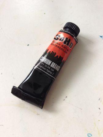 Cadmium Orange Tube