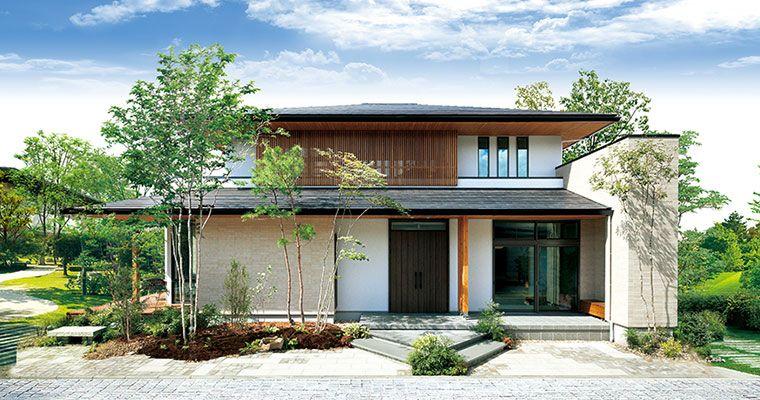 洗練された雰囲気の平屋 一戸建て木造注文住宅の住友林業 ハウス