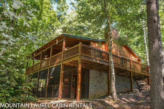 Merveilleux Mountain Laurel Cabin Rentals