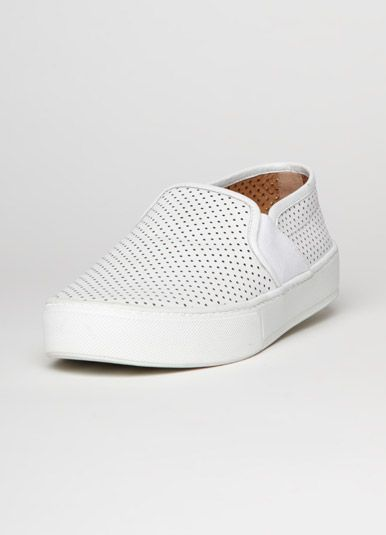1ef3161eb69 BLAIR PERFORATED LEATHER SLIP-ON SNEAKER...Need to find these!