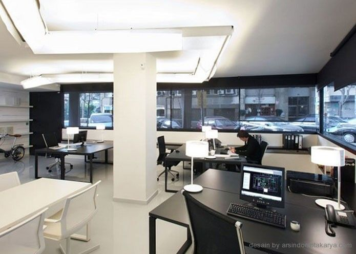 desain interior kantor sederhana